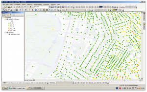 Data mapped successfully in ArcGIS 10