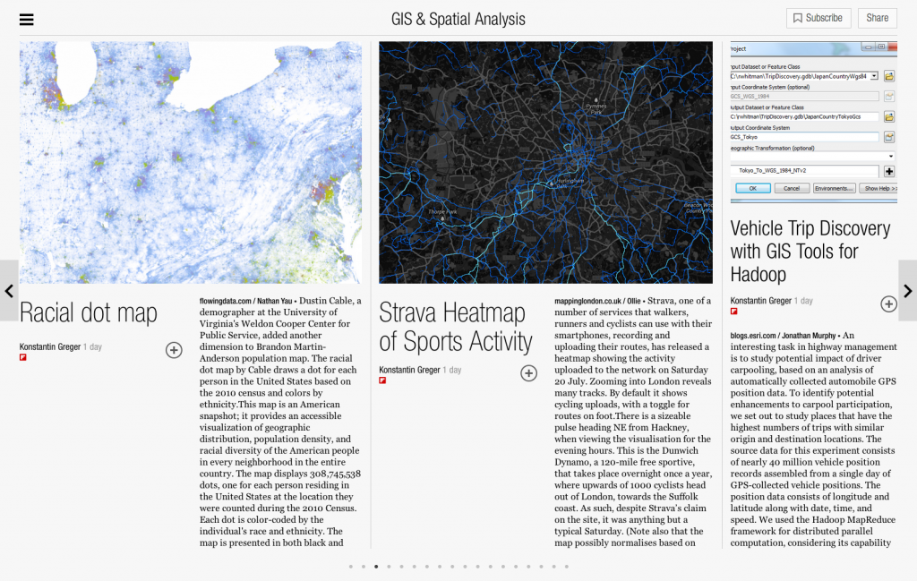 GIS & Spatial Analysis - Flipboard