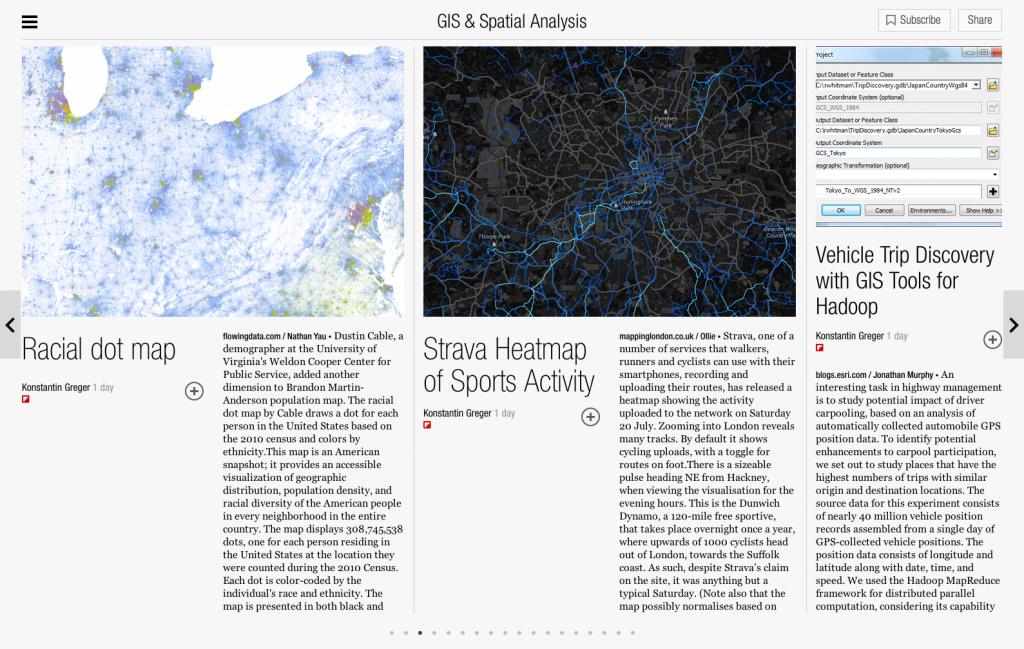 GIS & Spatial Analysis - Flipboard
