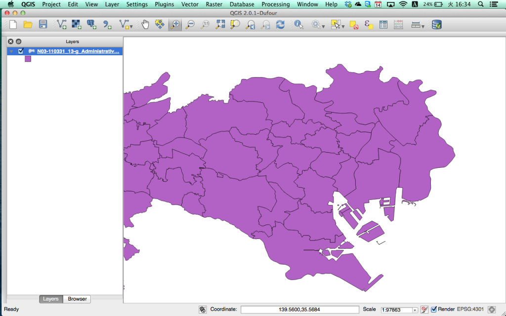 QGIS 2.0 on MacOS X 10.9 Mavericks