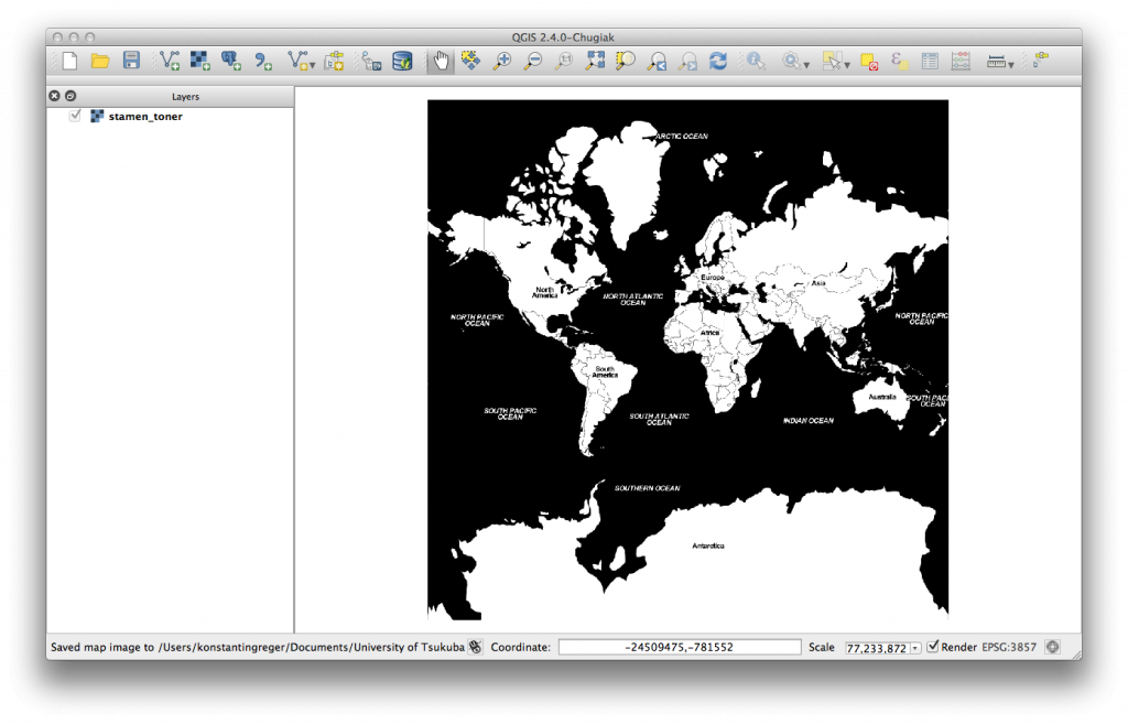 Stamen Toner map tiles in QGIS 2.4
