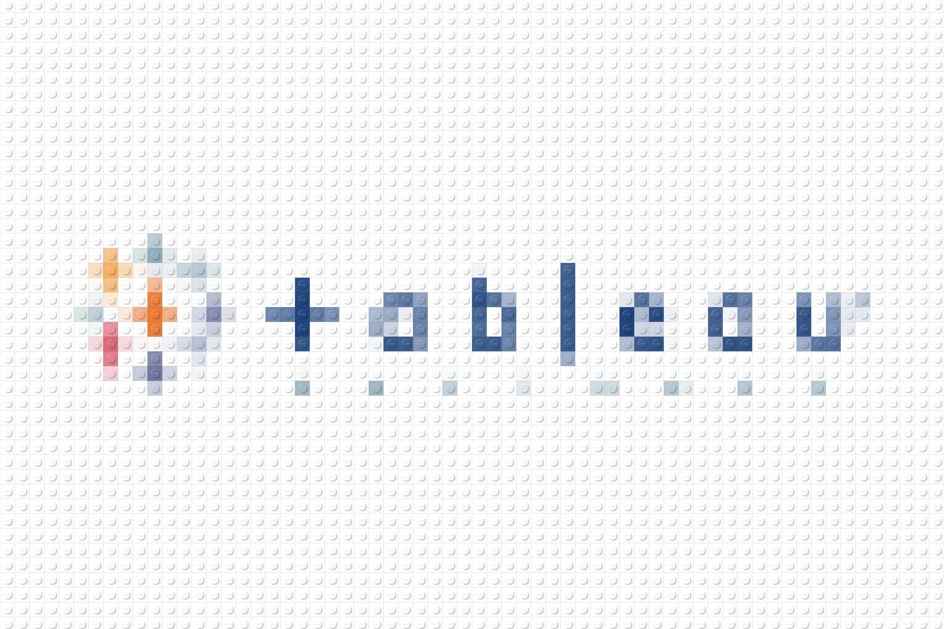 LEGO-ified Tableau logo